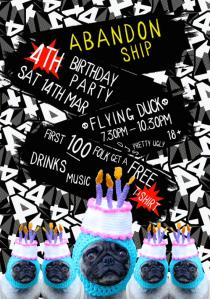 Abandon Ship Apparel's 4th Birthday