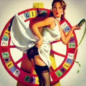 Come and spin the wheel of wonder at Magic Nostalgic | 'Sometimes It Snows In April' blog on www.prettyuglyclub.co.uk
