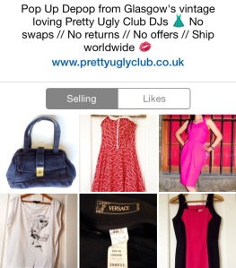 Our Pop Up Vintage Depop Shop | Rollin' With The Homies blog www.prettyuglyclub.com