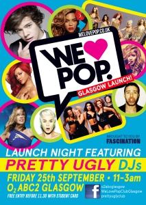 Glasgow's newest club night dedicated to all things POP! | SOS - Save Our Social-life! | Pretty Ugly Club blog www.prettyuglyclub.co.uk